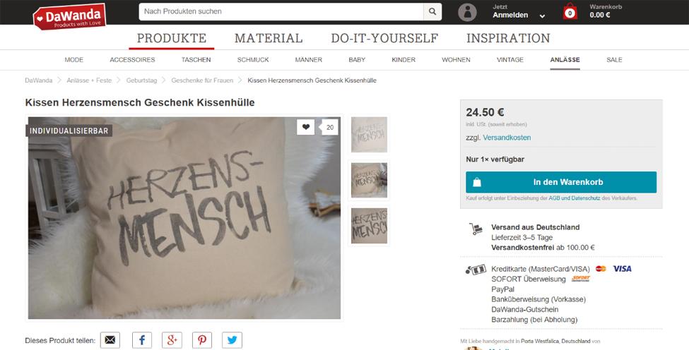https://de.dawanda.com/product/107395759-kissen-herzensmensch-geschenk-kissenhuelle, 26.03.2018