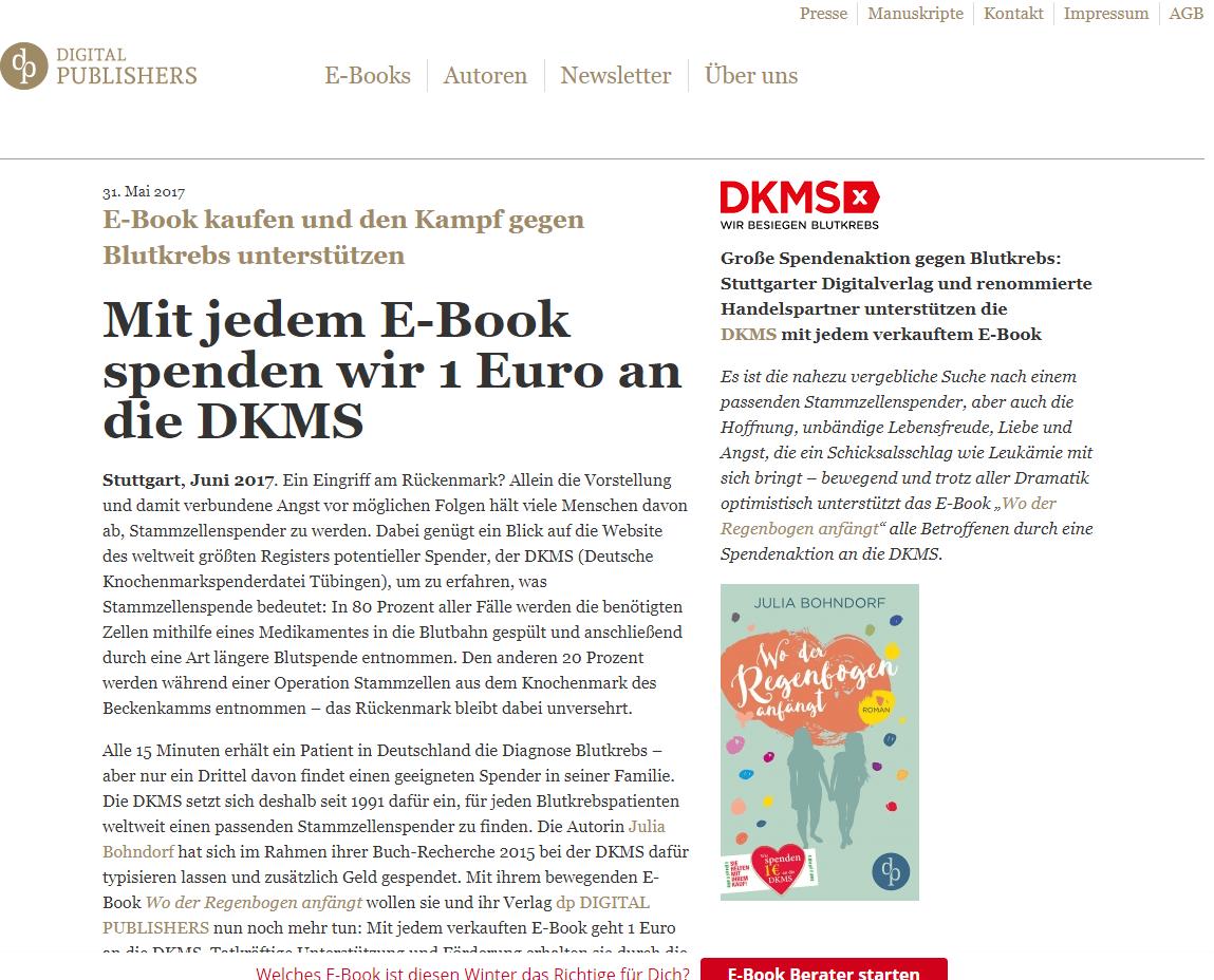 http://www.digitalpublishers.de/2017/05/mit-jedem-e-book-spenden-wir-1-euro-an-die-dkms/, 19.04.2018, 11:20