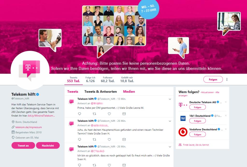 Deutsche Telekom als Best Practic