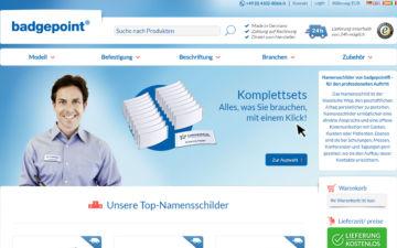 Screenshot badgepoint