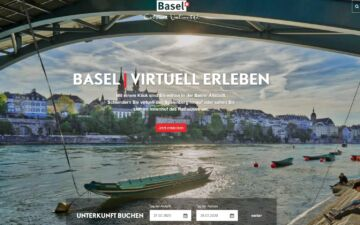 Screenshot Basel Tourismus
