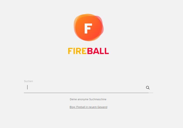 fireball Suchfeld