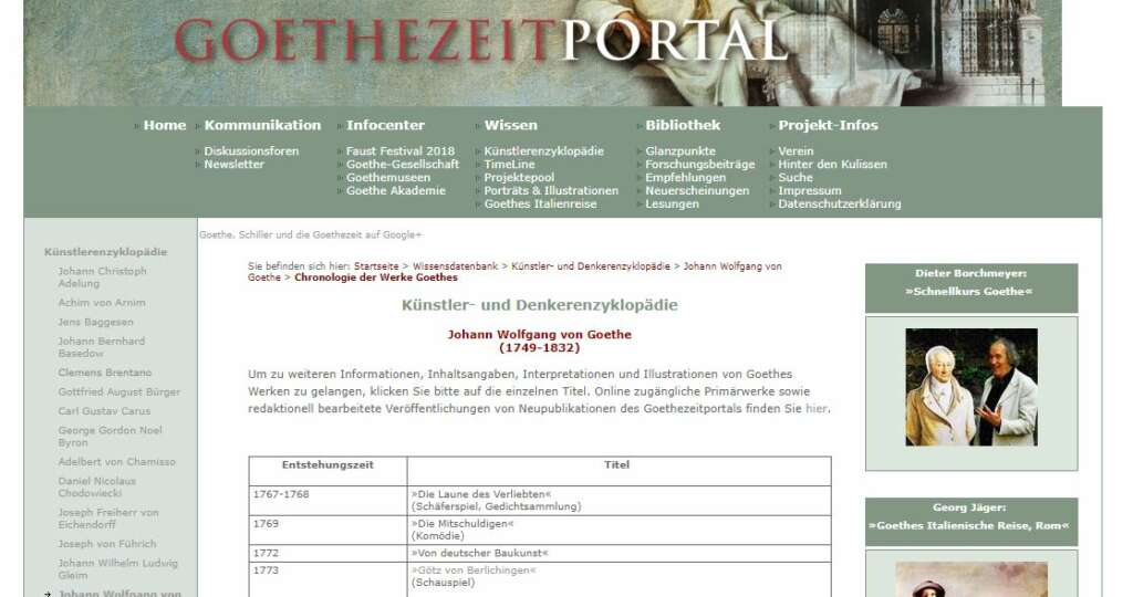 "Abbildung 5 Platz 1 ""Goethe Werke"": http://www.goethezeitportal.de/wissen/enzyklopaedie/goethe/goethe-werke.html"