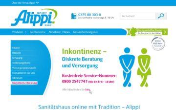 Screenshot Alippi