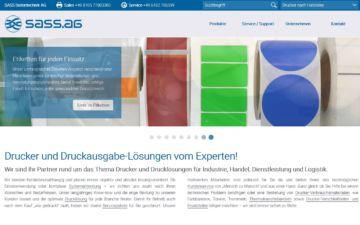 Screenshot SASS Datentechnik