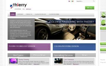 Screenshot Thierry Corporation