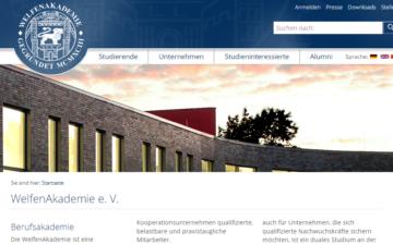 Screenshot Welfenakademie