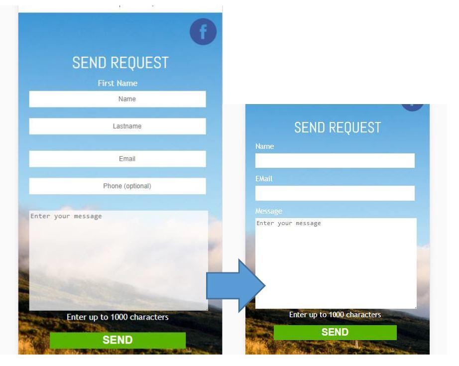 Vorschau der Optimierung im Screenshot